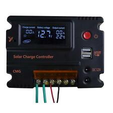 20A LCD Solar Panel Battery Regulator Charge Controller Automatic Switch Mppt