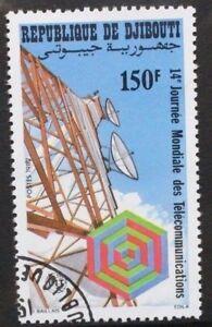 DJIBOUTI 1982 World Telecommunications Day. Set of 1. Fine USED/CTO. SG849.