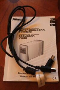 Genuine Nikon Super Coolscan 5000 V & IV ED Film Scanner USB Cable UC-LS2