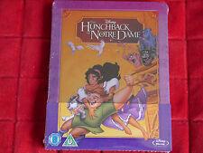 NEW SEALED Blu-ray Region A B C Disney The Hunchback of Notre Dame Steelbook