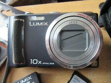 Panasonic LUMIX DMC-TZ4 8.1MP Digital Camera - Black IN V.G.C.