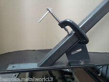 Angolo di 45 gradi saldatura morsetto (taglio laser e la precisione piegato)
