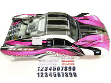 NEW TRAXXAS SLASH 1/10 2WD Body Factory Painted PINK RAPTOR VXL XL-5 RL4P