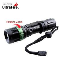 Ultrafire 6000 LM Zoomable X-XML T6 LED Flashlight 18650 AAA Battery Torch UP