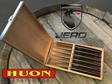Jero 6 PC Steak Knife Set in Cigar Display Box, Utensils, Knives, Cooking, Gift