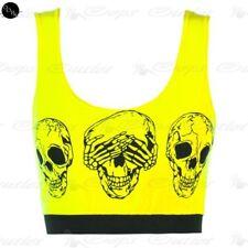 Maglie e camicie da donna gialli viscosi taglia M
