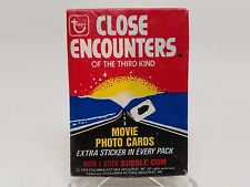 1978 Topps Close Encounters of the Third Kind Trading Cards Sealed Wax Pack