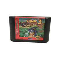 Sonic the Hedgehog 3 - Sega Genesis - Authentic Loose Cartridge Only Untested