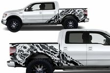 Custom Vinyl Decal Graphics Nightmare Wrap Kit for Ford F-150 09-14 Matte Black