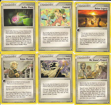 Pokemon Set of Trainer Cards (11) Ex Dragon Frontiers