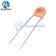 100PCS 102pF 1000pF 1nF 50V 102 DIP Ceramic Disc Capacitors TOP