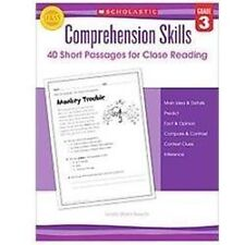 Comprehension Skills: Short Passages for Close Reading: Grade 3 , Beech, Linda