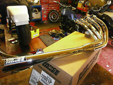 Suzuki GS1000 GSX1100 Vance and Hines chrome drag race exhaust. new.