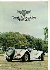 ORIGINALE prospetto salesbrochure Panther Classic Auto of the 70s j72 Deville