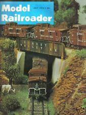 VINTAGE MODEL RAILROADER MAGAZINE TRAINS JULY 1973