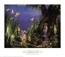 CHILD ART PRINT A Little More Fairy Dust - Mary Baxter St. Clair Children Poster