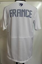 France 2012/13 Blanc pre match chemise par nike adulte taille L NEUF