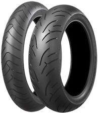 Road Tyre Package - Bridgestone BT023 front & rear tyres 120/70ZR17 & 160/60ZR17