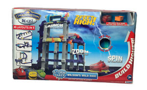 NEW Tomy Chuggington Storm Maker Wilsons Wild Ride Deluxe Action Play Set Toy