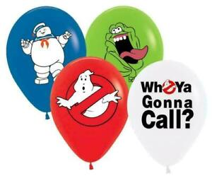 """10 X 12"""" GHOSTBUSTERS  Multi Colour Latex Printed Balloons Birthday Party, SLIME"""