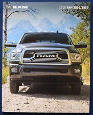 Prospekt brochure 2018 Dodge Ram 2500 / 3500 (USA)