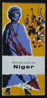 Brochure touristique REPUBLIQUE DU NIGER AFRIQUE AFRICA dépliant Tourisme