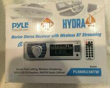 Pyle Plrmr23Btw Bluetooth Marine Receiver Stereo Mp3/Usb/Sd Readers Am/Fm Radio
