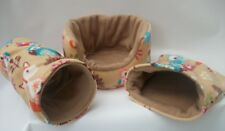 COZY PETS   GUINEA PIG BED,HOUSE,POUCH, TUNNEL FERRET,RAT,CHINCHILLA, COSY SET