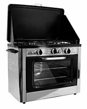 Compact Outdoor Range Oven for Camping Trips & Emergency Preparedness