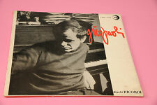 GINO PAOLI LP SAME DEBUT ALBUM ORIG ITALY 1961 SOLO COPERTINA SENZA DISCO