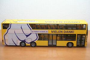 Rietze, MAN Lions City DL, BVG Berlin, Danke, neu in OVP