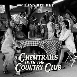 For Lana Del Rey Chemtrails Over the Country Club Art Music Poster HD Canvas