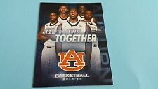 2014/15 NCAA BASKETBALL AUBURN TIGERS POCKET SCHEDULE***ALFA INSURANCE***