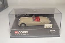 * CORGI TOYS 02901 2901 JAGUAR XK 120 XK120 OPEN TOP FAWN MINT BOXED