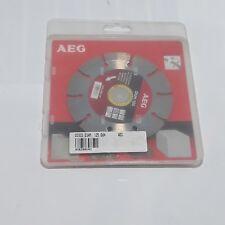 AEG Disco diamantato diametro 125mm foro 22,23mm 12200g/min 399540
