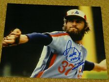 Bill Lee signed 8x10 Montreal Expos Boston Red Sox