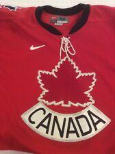 Nike Team Canada Olympic Hockey Jersey Size 52
