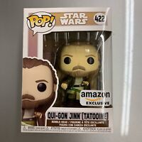Funko Pop Star Wars Across The Galaxy Qui-Gon Jinn Tattooine Amazon Exclusive
