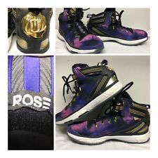 f8bbb1fc6120 Adidas Derrick D Rose 6 VI Boost Violet Florist City Basketball Shoes Men s  7