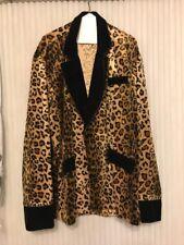 Rare Man's Leopard Coat Rasta Inposta Polycotton Size M Ships N 24h