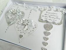 Luxury Personalised Card,Engagement, Anniversary, Wedding Day Box