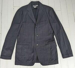 "ISSEY MIYAKE Cotton Jacket Size XL (44"") - Made in Japan - TOP DESIGNER STYLE !"