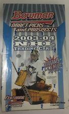 2003-04 Bowman Draft Picks and Prospects Factory Sealed Hobby Hockey Box