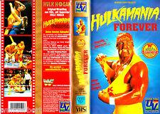 """VHS - """" HULKMANIA Forever - Hulk Hogan - WWF WRESTLING """""""