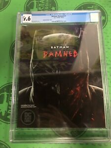 Batman Damned #1 Advance Readers Copy CGC 9.6 NM+ WHITE PAGES BATWANG VERY RARE