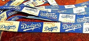 NYLON DOG LEASH or COLLAR, LOS ANGELES DODGERS,MLB,made in U.S.A., vintage