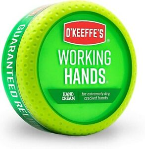O'Keeffe's Working Hands® Hand Cream 96g Jar Energy Class A NEXT DAY DELIVERY