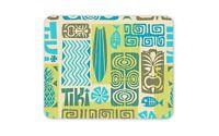 Tiki Hawaiian Holiday Green Pattern Mouse Mat Pad - Art Gift Computer #14380
