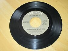 CHI COLTRANE-THUNDER AND LIGHTNING  B/W-TIME TO COME IN-VG