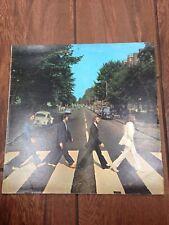 Vintage The Beatles Abbey Road Apple Record Album LP